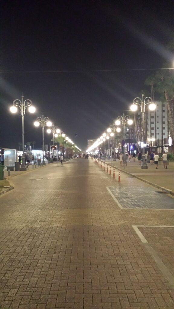 Zypern - Larnaka - Finikoudes am Abend
