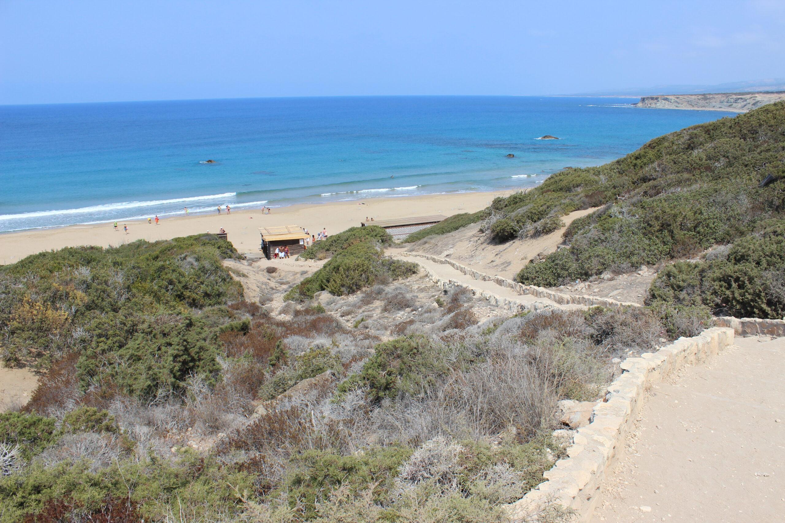 Zypern - Lara Beach auf der Halbinsel Akamas