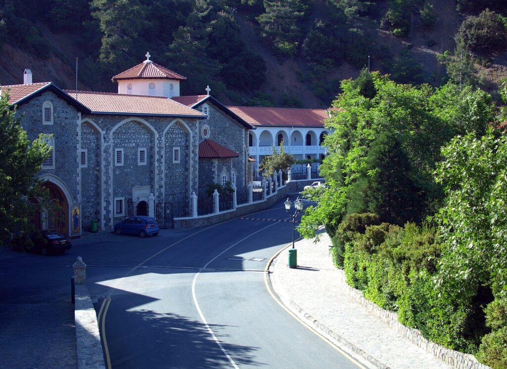 Das Kloster Kykkos im Troodos Gebirge auf Zypern