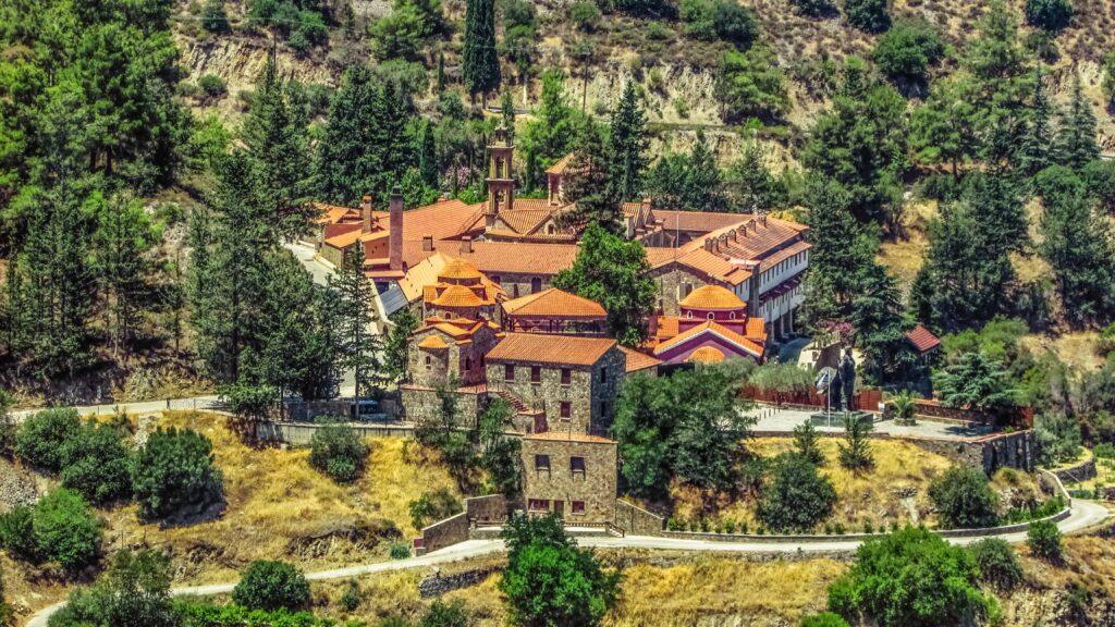 Das wunderschöne Kloster Machairas.