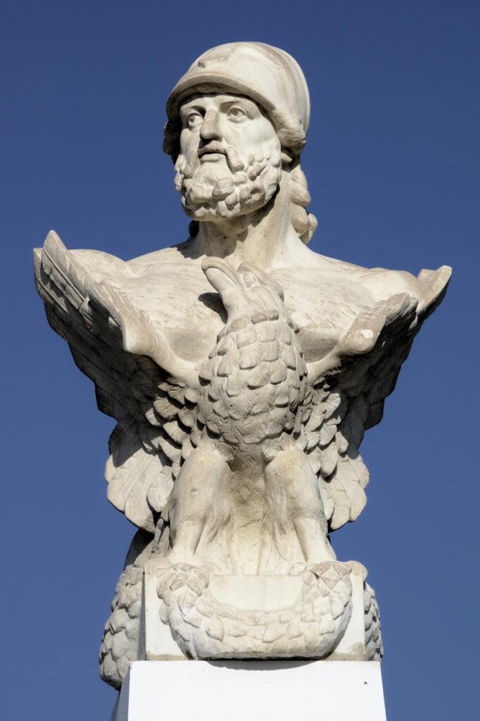 Zypern - Larnaka - Kimon Skulptur