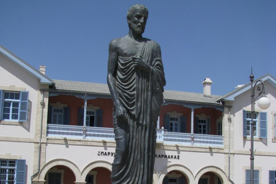 Zypern - Larnaka - Zeno von Kition