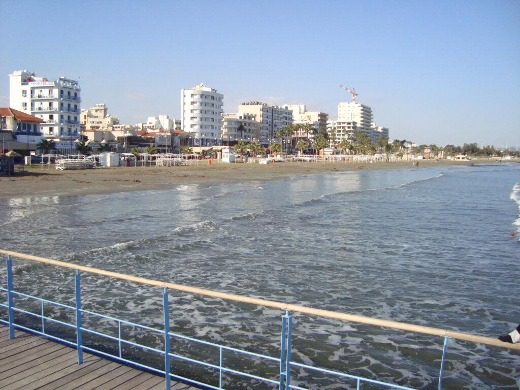 Zypern - Larnaka - Finikoudes Beach