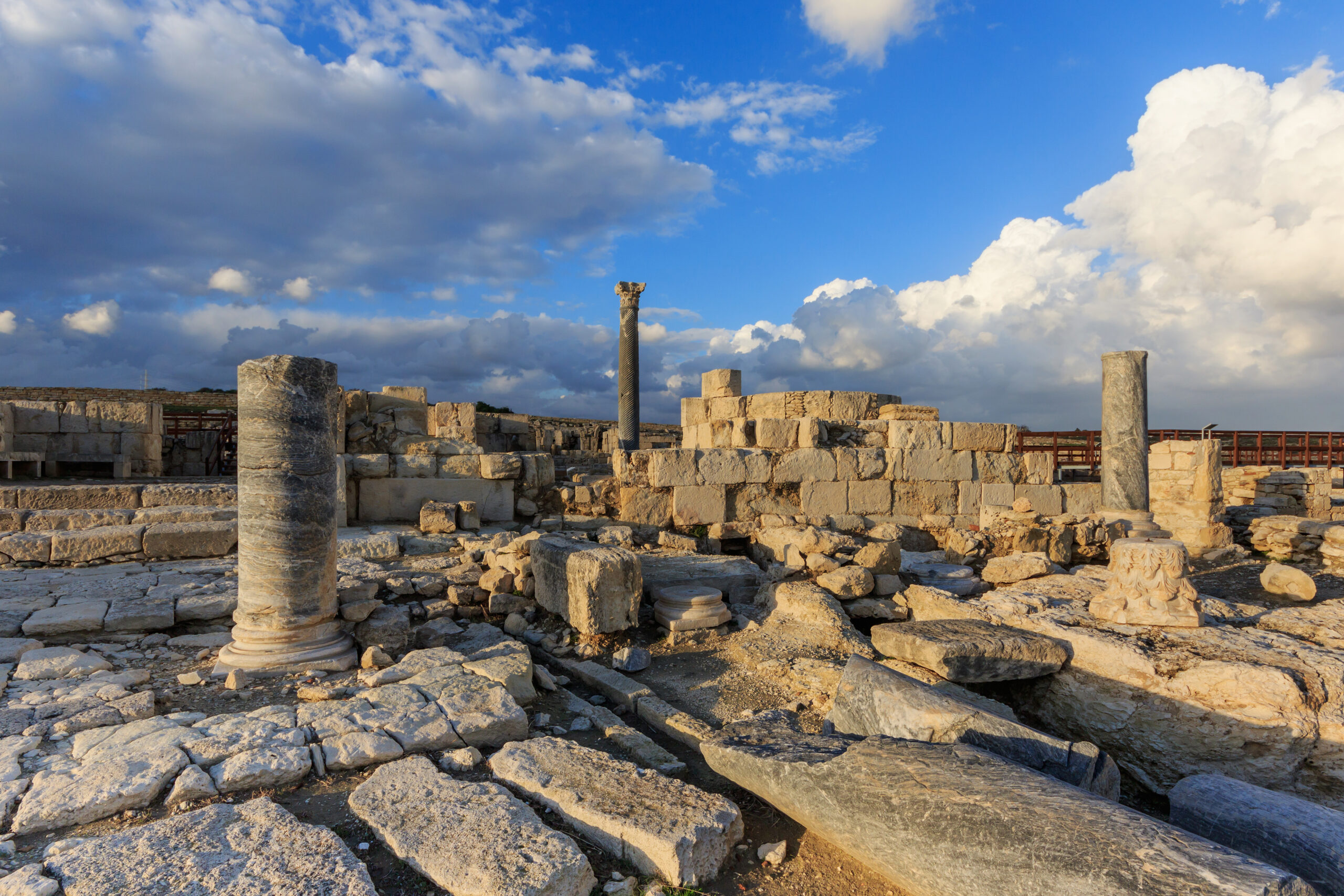 Zypern - historische Ausgrabungsstätte Kourion in der Nähe von Limassol