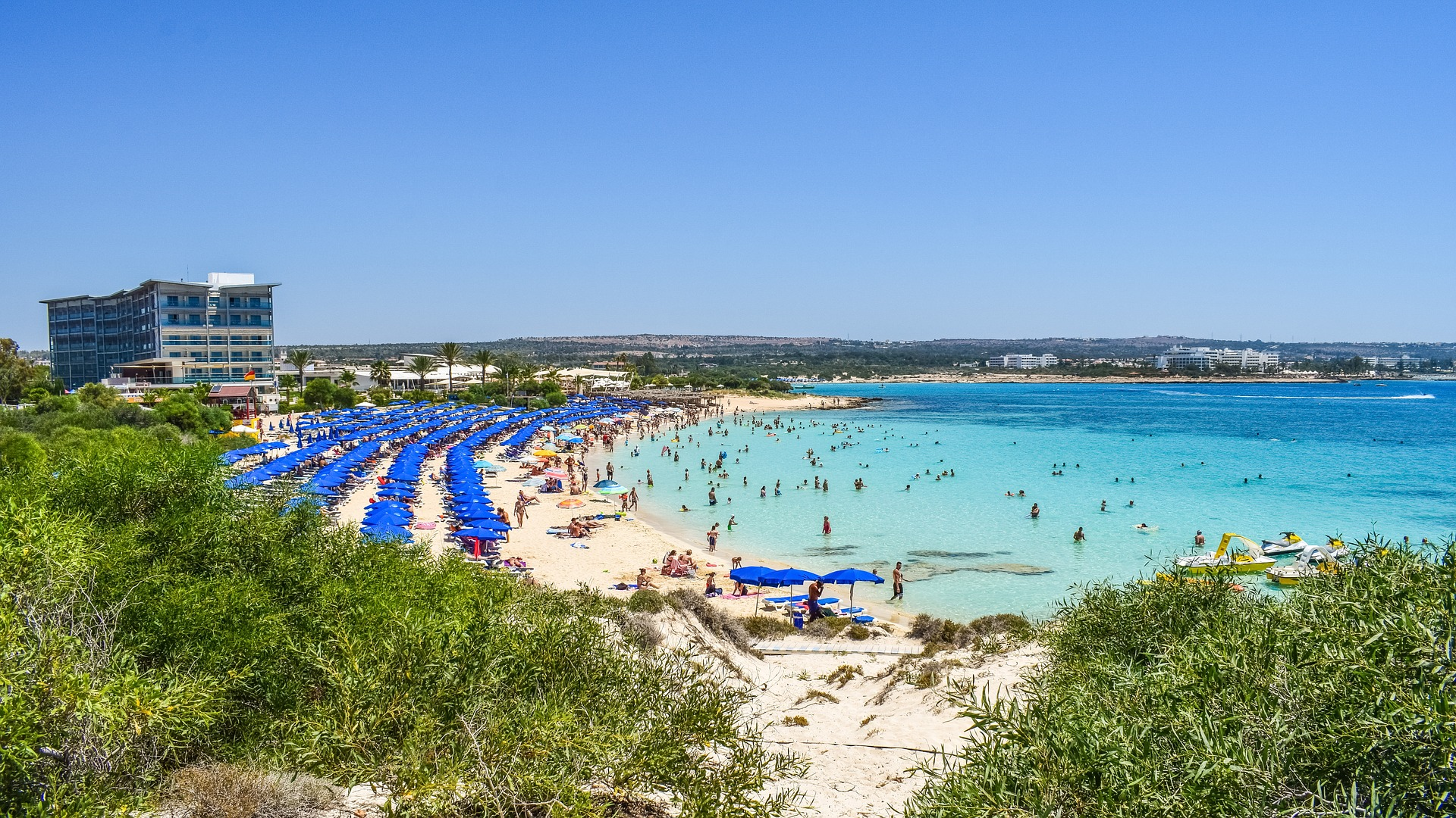 Zypern - Ayia Napa - Makronissos Beach - Ein traumhafter Sandstrand im Ort Ayia Napa im Distrikt Famagusta.