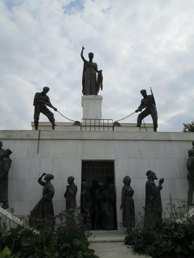 Zypern - Nikosia - Freiheitsstatue. Denkmal zur Erinnerung an die britische Kolonialmacht