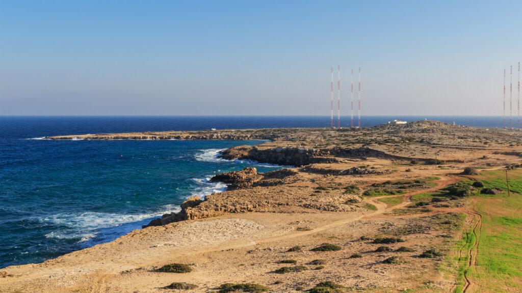 Kap Greco im Distrikt Famagusta auf der Insel Zypern