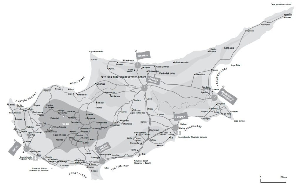 Zypern_Überischtskarte