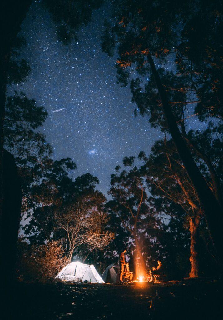 Zypern - Camping im Troodos unter dem Sternenhimmel