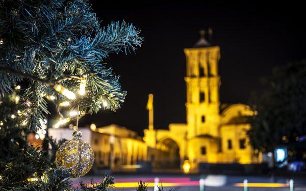 Weihnachten in Larnaka an der St. Lazarus Kirche