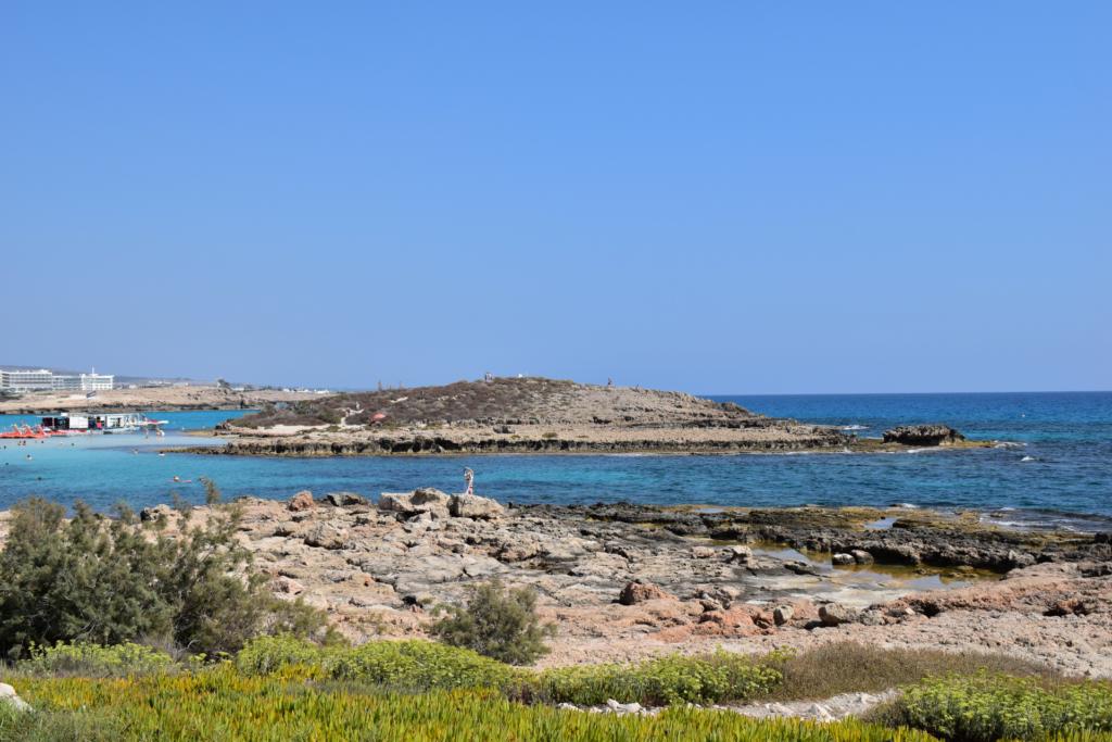 Zypern - Ayia Napa - Nissi Beach - Insel vor dem Strand